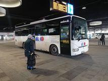 Banská Bystrica / autobusová stanica / autobus /