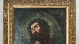Budatínsky hrad, obraz Krista