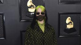 Speváčka Billie Eilish prišla v modeli z dielne Gucci.