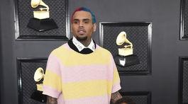 Spevák Chris Brown a jeho dcérka Royalty Brown.
