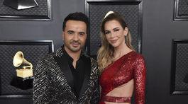 Spevák Luis Fonsi a jeho manželka Agueda Lopez.