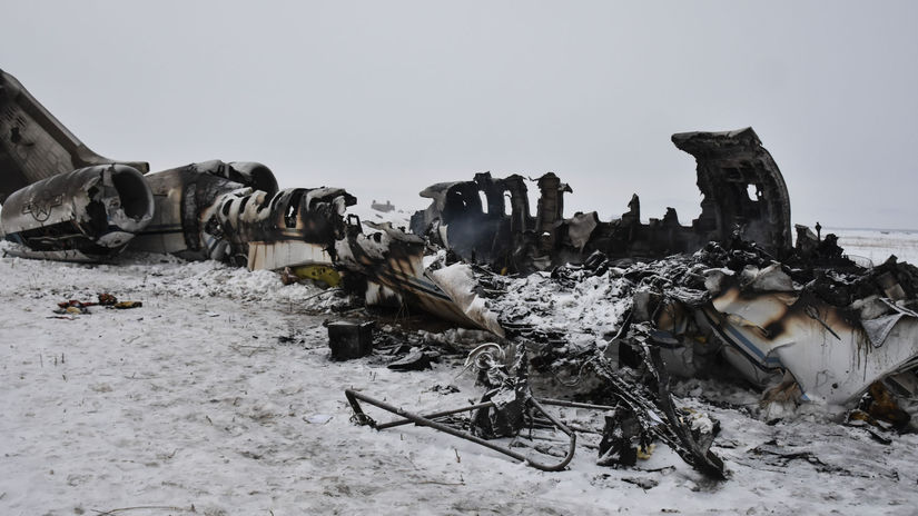 Afganistan USA lietadlo zrútenie armáda priznanie