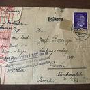 korešpondenčný lístok, Auschwitz