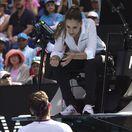 Všetky oči na ňu. Federera postavila do pozoru rozhodkyňa