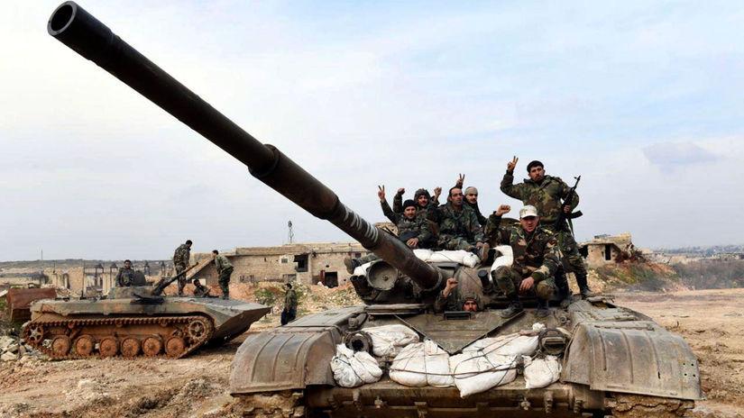 Sýria Aleppo nepokoje boje armáda Rusko podpora