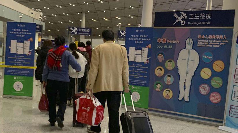 Čína vírus nový ľudia šírenie možnosť nevylúčenie