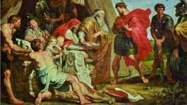 Rubens Odhalenie proroctva zo serie Decius Mus.