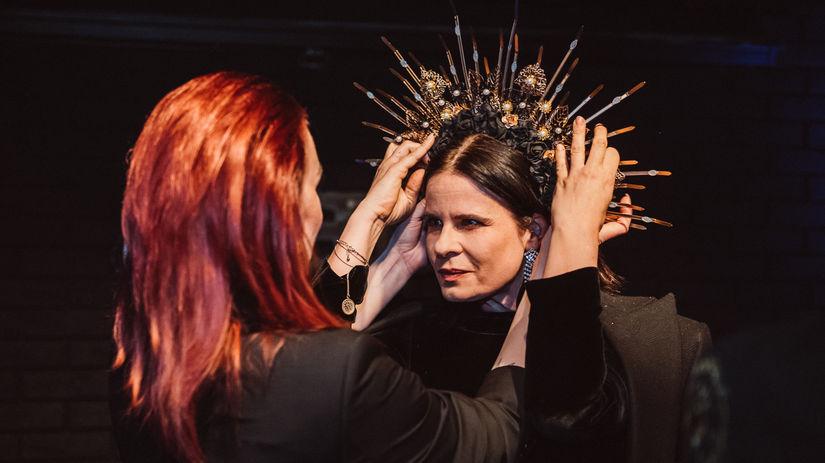 Herečka Zuzana Fialová sa stala krstnou mamou...