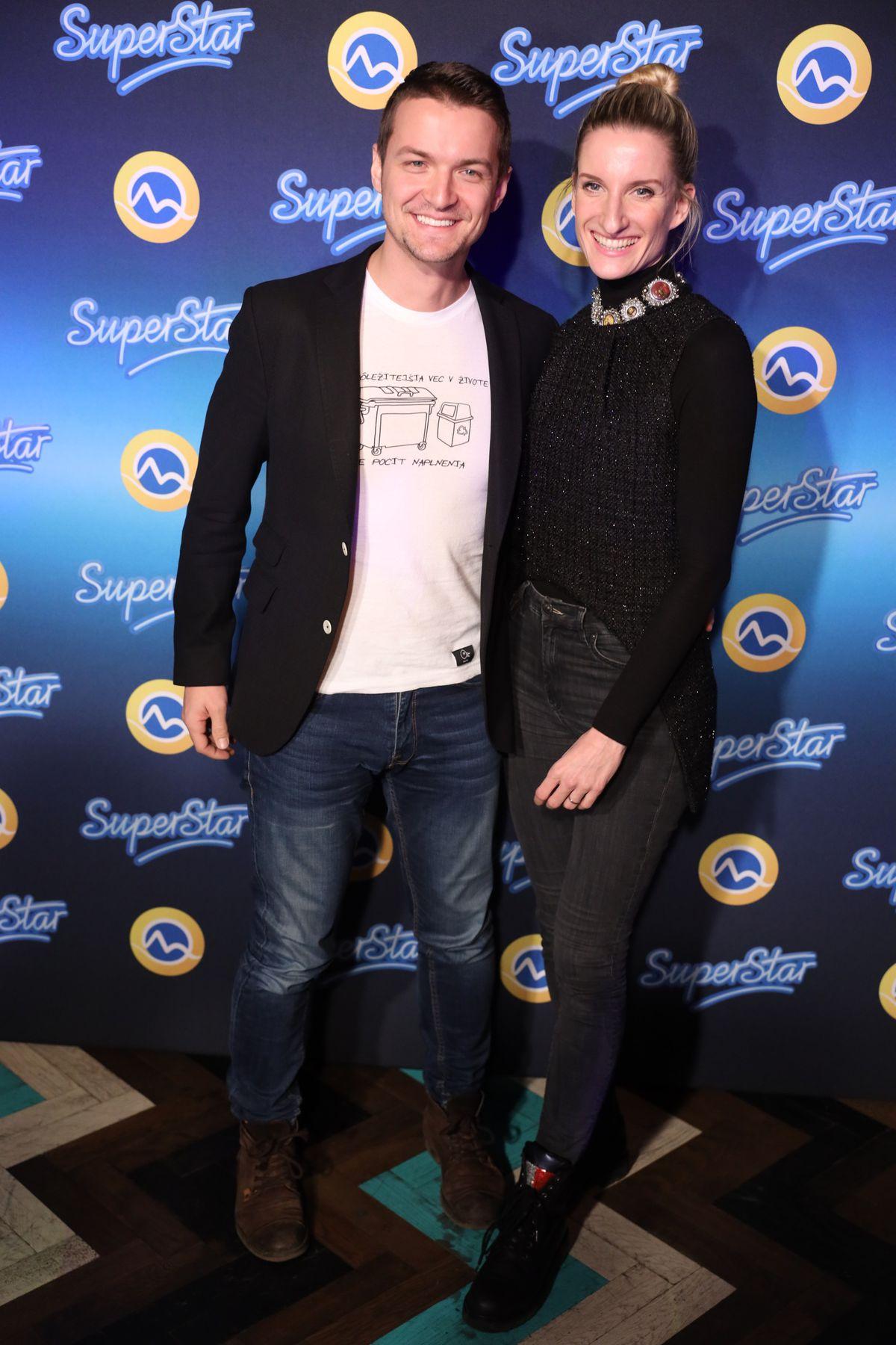 Na párty televízie Markíza k projektu Superstar...
