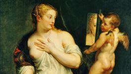 Rubens Venusa pred zrkadlom