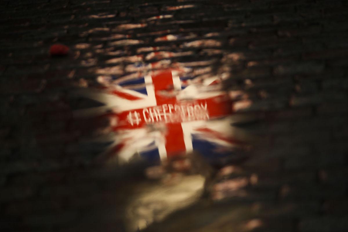 Brexit / Británia / vlajka /