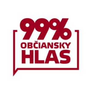 logo 99% občiansky hlas