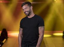 Spevák Ricky Martin počas rozhovoru v rodnom Portoriku.
