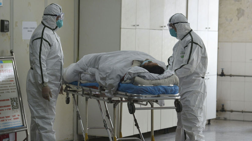 Čína, koronavírus,