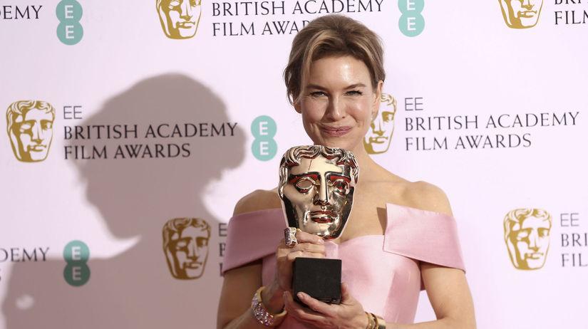 Herečka Renee Zellweger získala cenu za výkon v...