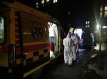 SR Martin koronavírus podozrenie sanitka vírus zdravotník