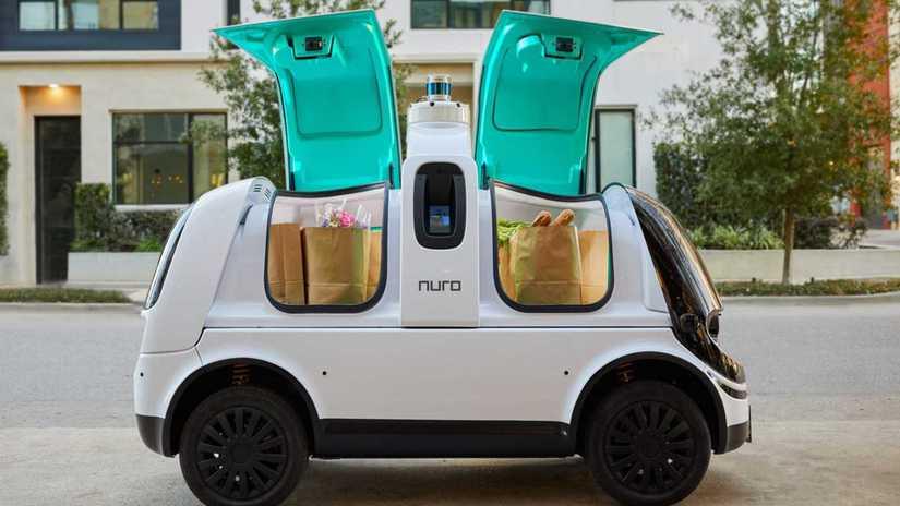nuro, r2, autonómne vozidlo