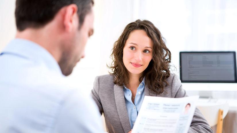 pracovný pohovor, interview, životopis