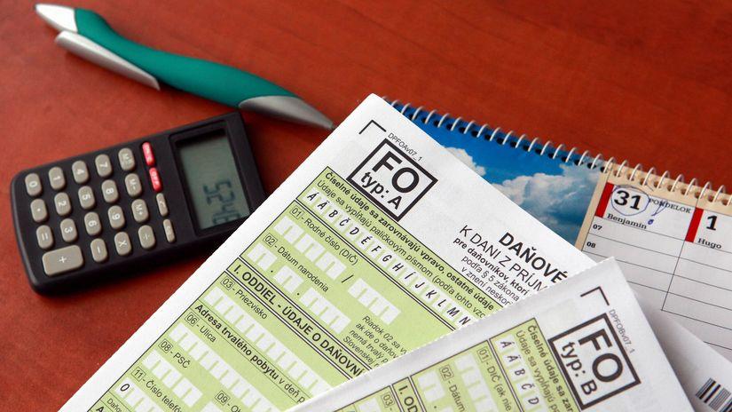 daňové priznanie, daňové priznanie, kalkulačka,...