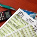 daňové priznanie, daňové priznanie, kalkulačka, pero