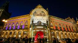 Budova Obecného domu v Prahe, kde sa konal Česko-Slovenský ples.