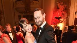 Moderátorka Gabriela Lašková na tanečnom parkete s manželom.
