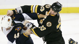 Thrashers Bruins Hockey