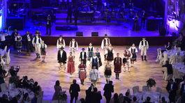 V rámci programu na 7. ročníku Česko-Slovenského plesu nechýbal ani folklór.