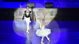 Vystúpenie baletu v rámci programu.