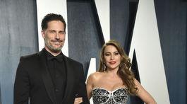 Herec Joe Manganiello a jeho manželka Sofia Vergara.