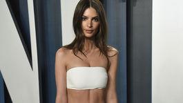 Herečka a modelka Emily Ratajkowski.