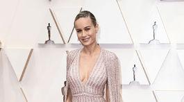 Herečka Brie Larson sa obliekla do modelu Celine.