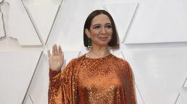 Herečka Maya Rudolph v kreácii Valentino.