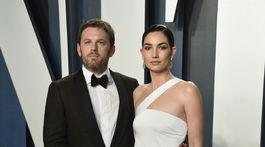 Hudobník Caleb Followill a jeho manželka - modelka Lily Aldridge.