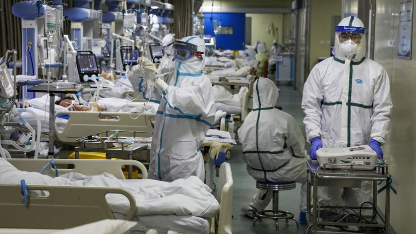 koronavírus nemocnica čína wuchan lekári doktor...