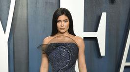Kylie Jenner prišla v kreácii Ralph & Russo Couture.