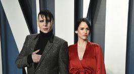 Lindsay Usich, partnerka rockera Marilyna Mansona mala veľkú premiéru.