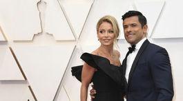 Moderátorka Kelly Ripa a jej manžel Mark Consuelos.