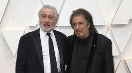 Nominovaní herci Robert De Niro (vľavo) a Al Pacino.