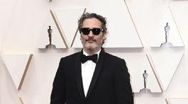 Nominovaný herec Joaquin Phoenix.