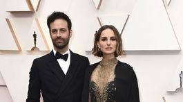 Tanečník Benjamin Millepied a jeho manželka - herečka Natalie Portman.