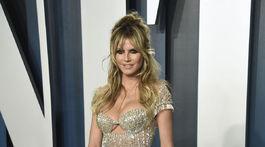 Televízna osobnosť Heidi Klum prišla aj na párty Vanity Fair Oscar Party.