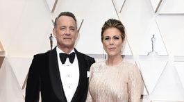 Tom Hanks a jeho manželka Rita Wilson.