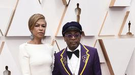 Tonya Lewis Lee a jej manžel - režisér a scenárista Spike Lee.
