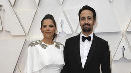 Vanessa Nadal a jej manžel - herec a scenárista Lin-Manuel Miranda.