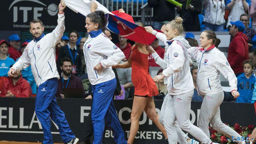 Fed Cup, Slovensko