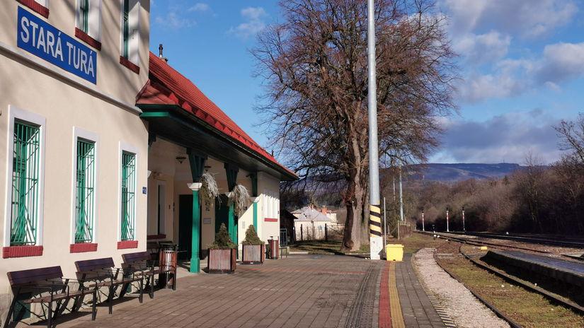 Vlaková stanica / Stará Turá /