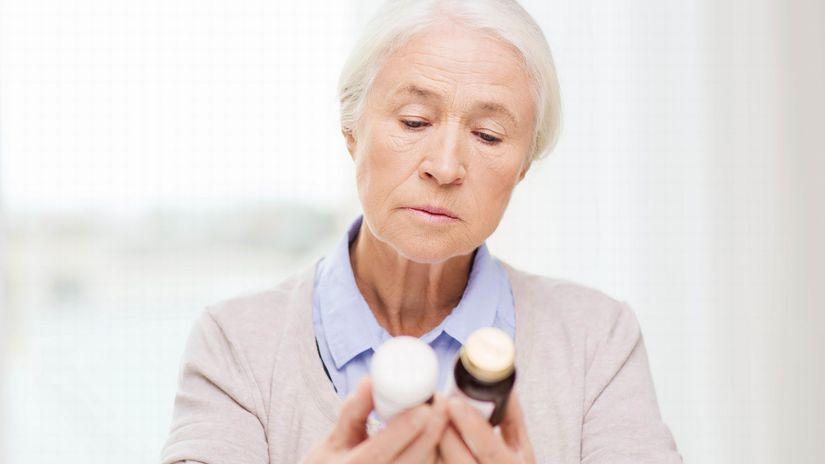 dôchodkyňa, lieky