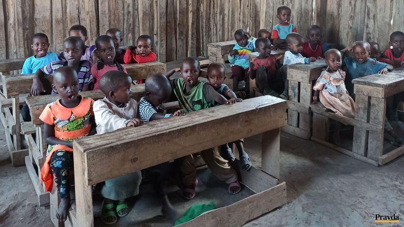 Masajovia škola Keňa
