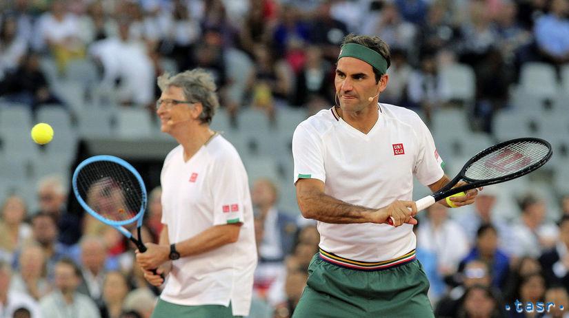 Bill Gates, Roger Federer